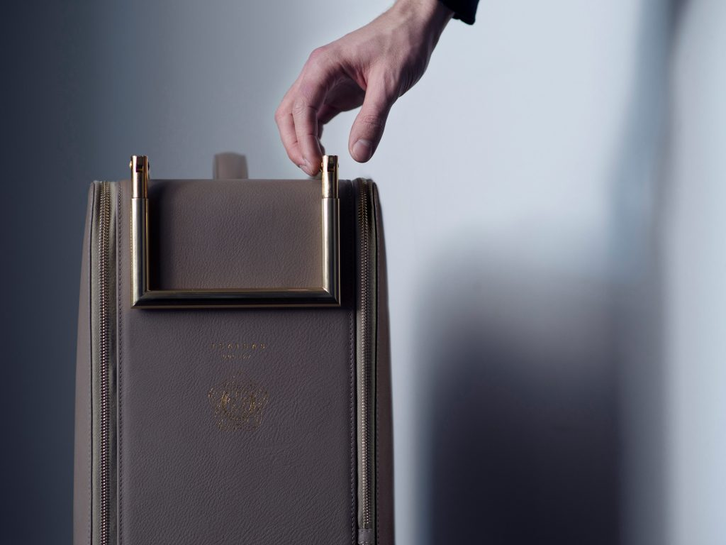 TSATSAS KAGE suitcase designed for the Wallpaper* Handmade exhibition in 2013