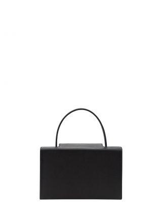 931 hand bag in black calfskin leather | TSATSAS