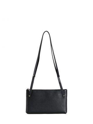 KRAMER 1 shoulder bag in black calfskin leather | TSATSAS