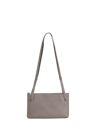 KRAMER 1 shoulder bag in grey calfskin leather | TSATSAS