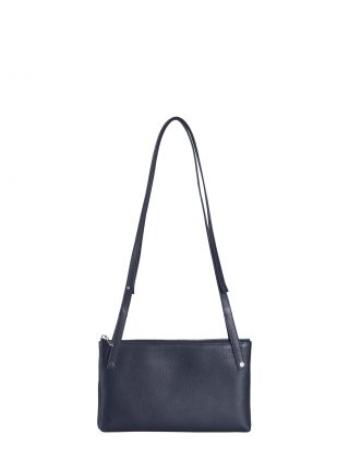 KRAMER 1 shoulder bag in navy blue calfskin leather | TSATSAS