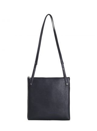 KRAMER 2 shoulder bag in black calfskin leather | TSATSAS