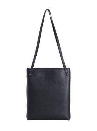 KRAMER 3 shoulder bag in black calfskin leather | TSATSAS
