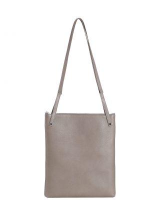 KRAMER 3 shoulder bag in grey calfskin leather | TSATSAS