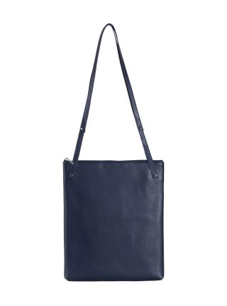 KRAMER 3 shoulder bag in navy blue calfskin leather | TSATSAS
