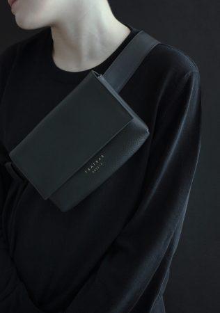 SOMA collection in black calfskin leather by Dimitrios Tsatsas | TSATSAS