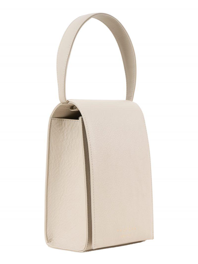 MALVA 3 hand bag in ivory calfskin leather | TSATSAS