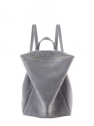 MARSH backpack in medium grey nubuck leather | TSATSAS