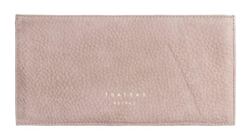 MATTER 1 case in blush pink nubuck leather | TSATSAS