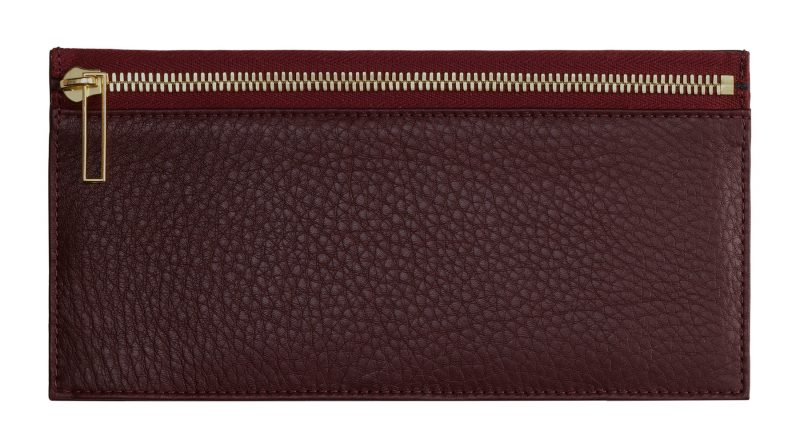 MATTER 1 case in burgundy calfskin leather | TSATSAS