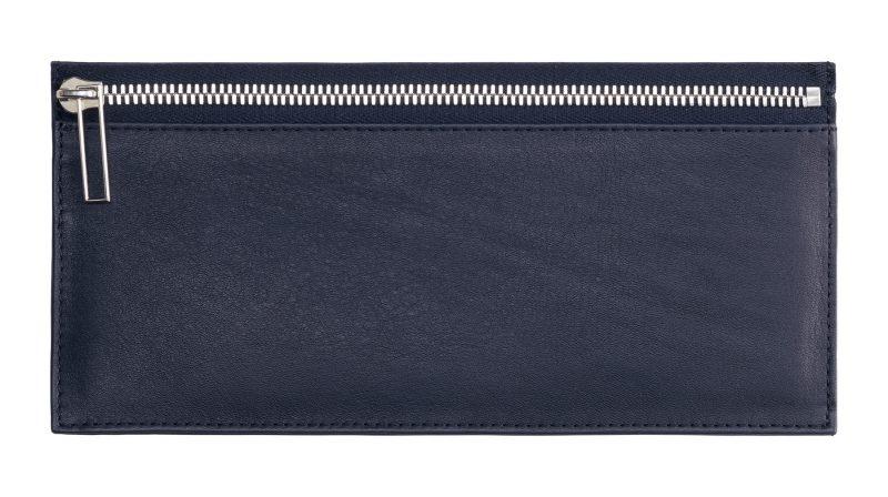 MATTER 1 case in navy blue calfskin leather | TSATSAS