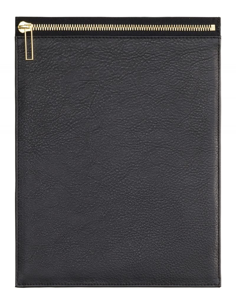 MATTER 2 case in black calfskin leather | TSATSAS