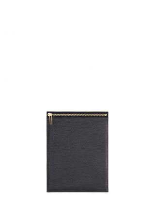 MATTER 2 case in black calfskin leather | TSATSAS