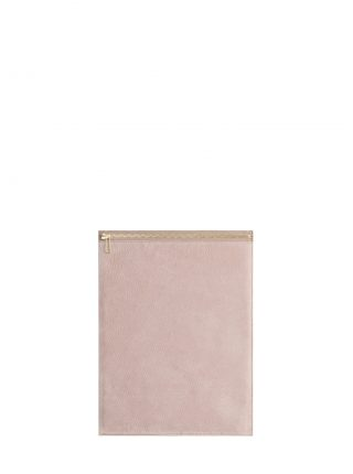 MATTER 3 case in blush pink nubuck leather | TSATSAS