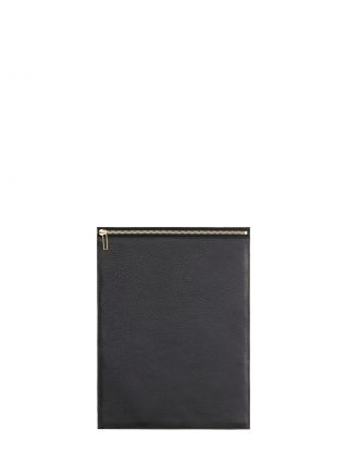 MATTER 3 case in black calfskin leather | TSATSAS