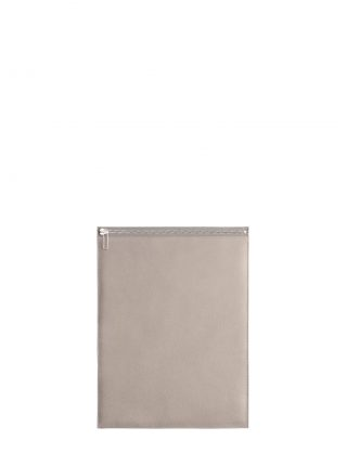 MATTER 3 case in grey calfskin leather | TSATSAS