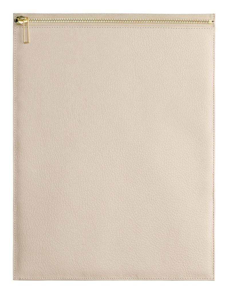 MATTER 3 case in ivory calfskin leather | TSATSAS