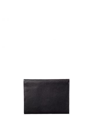 OTHER ONE pouch bag in black shrunken lamb nappa leather | TSATSAS