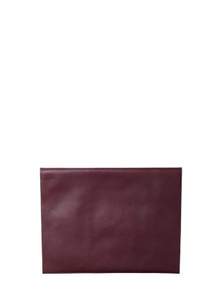 OTHER TWO pouch bag in burgundy calfskin leather | TSATSAS