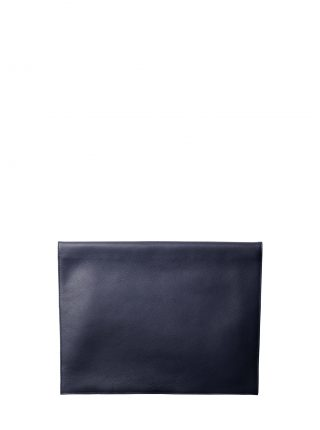 OTHER TWO pouch bag in navy blue calfskin leather | TSATSAS