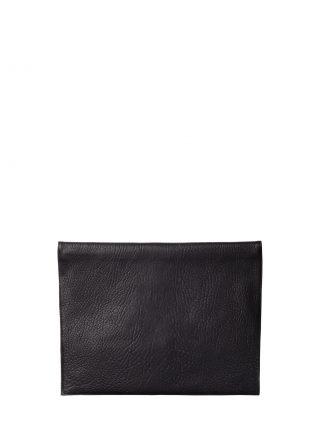 OTHER TWO pouch bag in black shrunken lamb nappa leather | TSATSAS