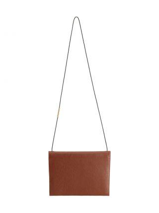RE-OTHER shoulder bag in tan calfskin leather | TSATSAS