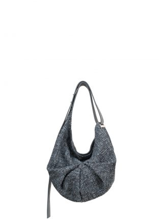 SACAR S SO_FAR shoulder bag in slate blue calfskin leather | TSATSAS