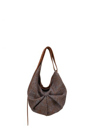 SACAR S SO_FAR shoulder bag in tan calfskin leather | TSATSAS