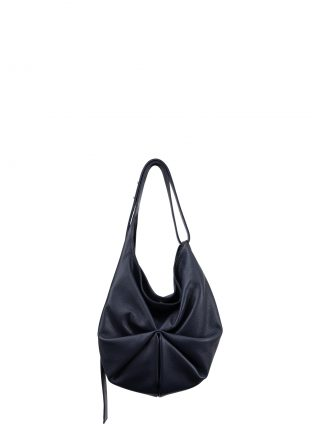 SACAR S shoulder bag in navy blue calfskin leather | TSATSAS