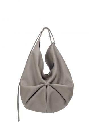 SACAR shoulder bag in grey calfskin leather | TSATSAS