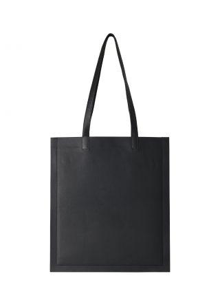STRATO shoulder bag in black lamb nappa leather | TSATSAS