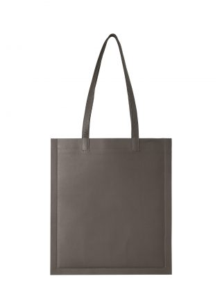 STRATO shoulder bag in grey lamb nappa leather | TSATSAS