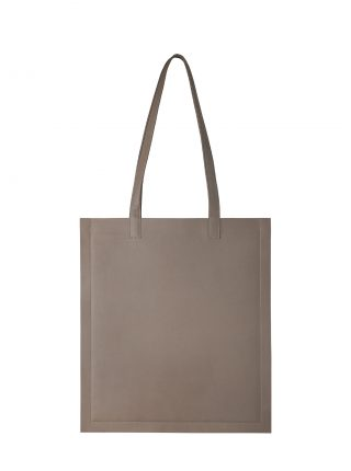 STRATO shoulder bag in taupe lamb nappa leather | TSATSAS