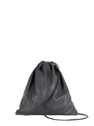 XELA backpack in anthracite lamb nappa leather | TSATSAS