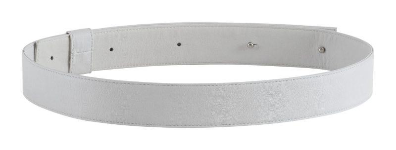 SOMA belt in off-white calfskin leather | TSATSAS