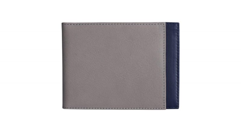 CREAM TYPE 5 wallet in grey calfskin leather | TSATSAS
