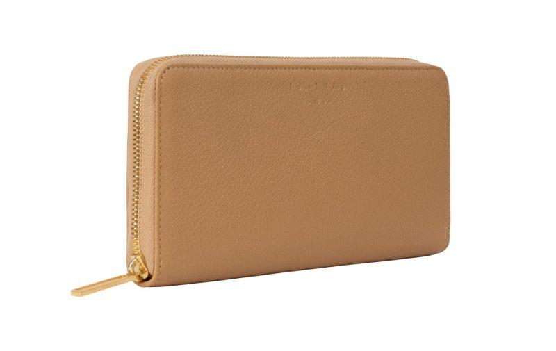 KOBO 2 wallet in cashew calfskin leather | TSATSAS