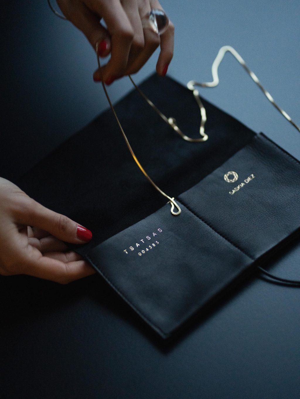 ÉTUI — a collaboration between Saskia Diez and TSATSAS