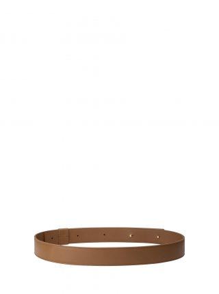 SOMA belt in fawn brown calfskin leather | TSATSAS