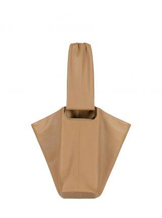 SHIFT shoulder bag in cashew calfskin leather | TSATSAS